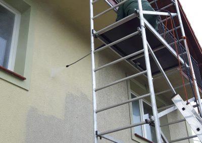 mycie elewacji Kraków