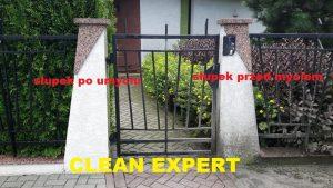 mycie i czyszczenie ogrodzeń Kraków