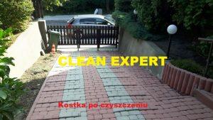 mycie i czyszczenie kostki brukowej Kraków